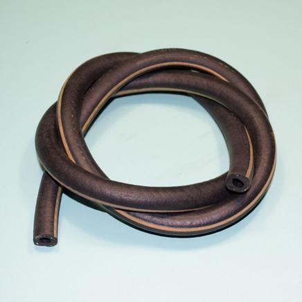 Бензошланг армированный резиновый (1 метр, внутренний d6 мм., Россия)