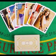 Карты игральные Горячие девушки (54 шт., покрытие пластик)