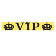 Наклейка на стоп-сигнал VIP (винил, 25 х 150 мм.)