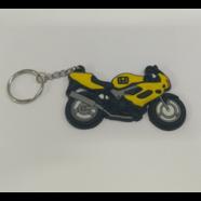 Брелок для ключей БАЙК Хонда YSK014 (резина, желтый)