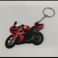 Брелок для ключей БАЙК Ямаха YSK019 (резина, красный)