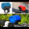 Гудок вело электрический с кнопкой на корпусе (фиолетовый)