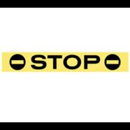 Наклейка на стоп-сигнал STOP (винил, 25 х 150 мм.)