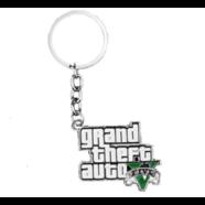 Брелок Grand Theft Auto (металл, эмаль)