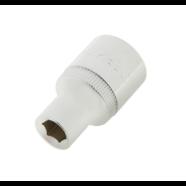 Головка торцевая Эврика (1/2 DR, 6 граней, 10 мм.)