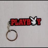 Брелок для ключей PLAYBOY (резина)