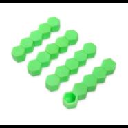 Колпачки силиконовые на колесные болты (19 мм. х 20 шт., от +300 до -25 градусов, зеленые)