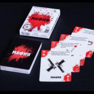 Карты игральные МАФИЯ (36 шт., покрытие пластик)
