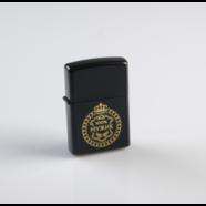 Зажигалка бензиновая МУЖИК (кремний, металл, не заправлена)