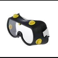 Очки защитные TUNDRA (поликарбонатные линзы, черная мягкая оправа)