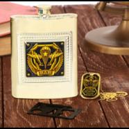 Набор подарочный ВДВ 3в1 (фляжка 240 мл., нож - мультитул, жетон)