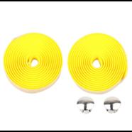 Обмотка руля с заглушками (желтая вспененная резина 2 шт. 30 х 2000 мм.)