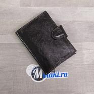 Портмоне (паспорт и водительские документы, натуральная кожа, темно-коричневый) N4.1