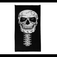 Бафф Скелет тип540 (белый, шарф-маска отлично тянется)