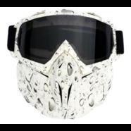 Очки защитные с маской EXTRIM тип3 (темное стекло, маска-фильтр снимается)