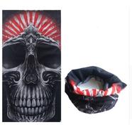 Бафф Gray Skull тип504 (шарф-маска отлично тянется)