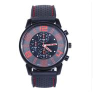 Часы Grand Touring тип2 (черно-красные, стекло, сталь)