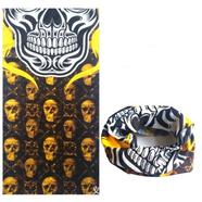 Бафф Golden Skull тип506 (шарф-маска отлично тянется)
