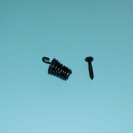 Амортизатор верхний-задний №1 Партнер 351 (пружина с шурупом)