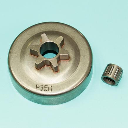 Барабан сцепления Партнер 350-420 (6 зубов 3/8, D67 x d63 x h28 мм. сепаратор)