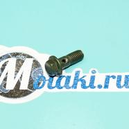 Болт гидравлики (штуцер М8 x 20 x шаг 1.25 мм.)