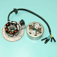 Генератор YX140-150 (статор 4+2 катушки, ротор d77 x h37 мм.)