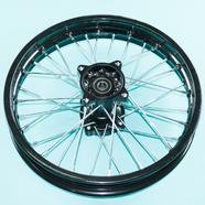 Обод TTR125 (задний колесный диск в сборе 1.85 x 14 под ось 15 мм.) ЧЕРНЫЙ