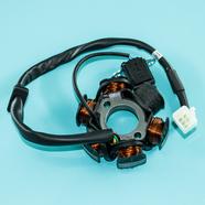 Зажигание TTR125 (статор генератора 6 катушек, 5К папа Ж-Ж-З-КрЧ-СиБ) 153-154 FMI