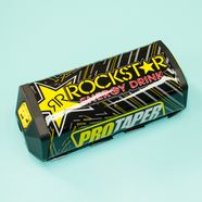 Защита перекладины руля RockStar (черная прямая, 200 x 60 мм.)