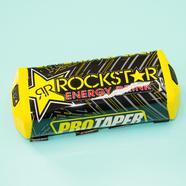 Защита перекладины руля RockStar (желтая прямая, 200 x 60 мм.)