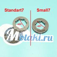 Венец барабана сцепления Штиль 180-250 (d21 мм. цепное колесо 7 зубов 3/8, Small7)