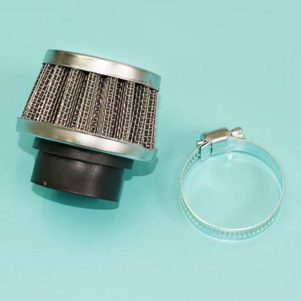 Фильтр 0 нулевого сопротивления d28 мм. Dio, К60В (конус низкий h35-37 x D60 мм.)