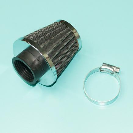Фильтр 0 нулевого сопротивления d35 x h70 х D74 мм. (конус высокий)