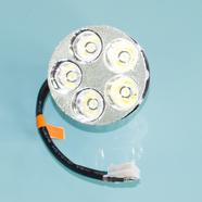 Лампа в фару Альфа (5 диодов 9-26В, мама 3к. и 1 провод)