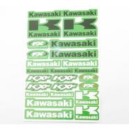 Наклейки Кавасаки 7045 (винил, 170 х 270 мм., 25 шт.)