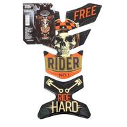 Накладка на бак Ride Hard (эпоксидная смола на клейкой основе, 265 х 180 х 2 мм.)