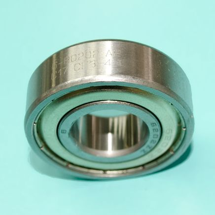 Подшипник 80202 / 6202 ZZ (закрытый металлом, Россия)