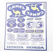 Наклейки CAMEL 5982 (винил, 230 х 260 мм., 29 шт.)
