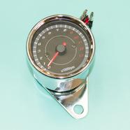 Тахометр электронный тюнинг ХРОМ (D60/D67 x h54 мм., подсветка, 3 провода)
