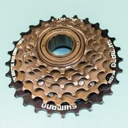 Кассета велосипеда 6 звезд SHIMANO (14-16-18-21-24-28 зубов, трещетка)