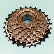 Кассета велосипеда 7 звезд SHIMANO (14-16-18-20-22-24-28 зубов, трещетка)