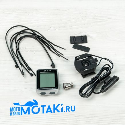 Велокомпьютер AS-823 (без батарейки)