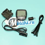 Велокомпьютер YS-468B (15 программ, подсветка, влагозащита, без батареек)