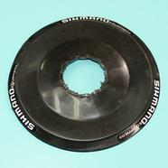 Защита блока звезд вело (пластик черный, Shimano D137 мм.)