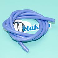 Провод высоковольтный силиконовый синий (медный, 1 метр)