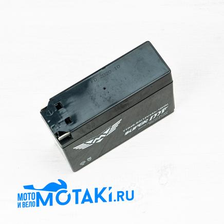 Аккумулятор 12В 4Ач скутер Ямаха, Сузуки (113 х 38 х 87 мм, гелевый YTR4B-BS)