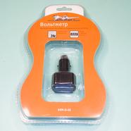 Вольтметр в прикуриватель с цифровым дисплеем 12 / 24 В (может быть без упаковки)