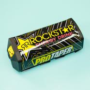 Защита перекладины руля (RockStar, черная, 200 x 60 мм.)